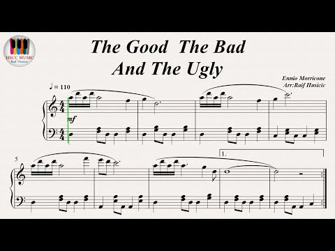 The Good, The Bad And The Ugly - Ennio Morricone, Piano