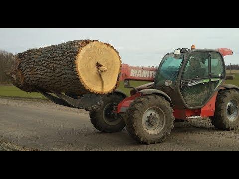 захват для леса Manitou -захват для бревен