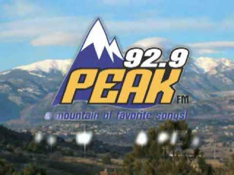 92.9 Peak FM TV Commercial