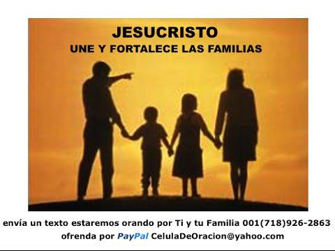 Oracion Por La Paz Y La Union Familiar Youtube