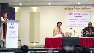 PT Suresh Talwalkar talks about Ustad Shahid Parve