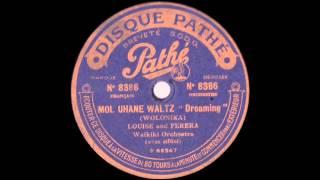 Louise and Ferera Waikiki Orchestra - Mol Uhane Waltz - 1917