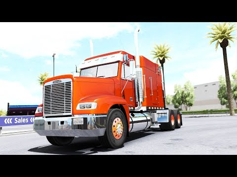 American Truck Simulator - Freightliner FLD - Test Drive Thursday #153