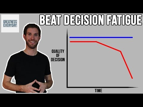 How to Overcome Decision Fatigue Avoid Decision Fatigue
