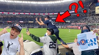 How to get ejected from Yankee stadium -- FANS GO CRAZY on the Astros!!