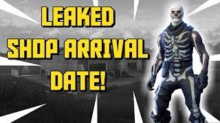 LEAKED Skull Trooper Date de retour! / Fortnite Bataille Royale