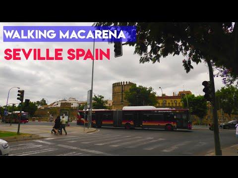 macarena district,Seville inmigrant workers city street