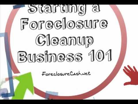 Foreclosure Cleanup Tips For Starting A Successful Property Preservation Company You
