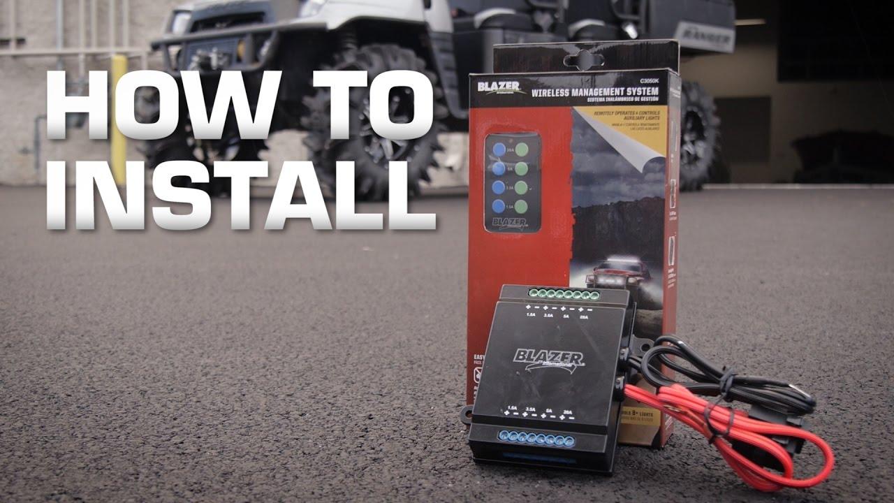 Blazer C3050k Wireless Management System Installation