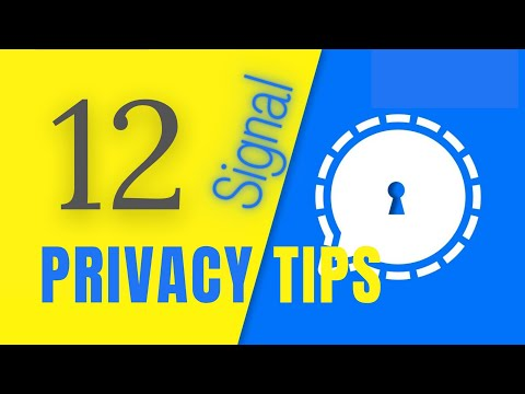Best Signal Privacy Settings You Must Enable on Your Phone.