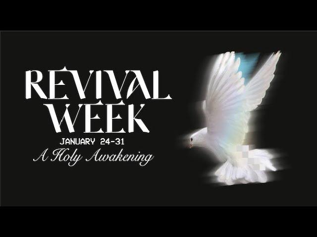 Revival Week 2021: Wednesday Worship Night