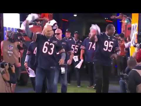 Members Of The 1985 Chicago Bears Are Introduced At Soldier Field / September 5th, 2019