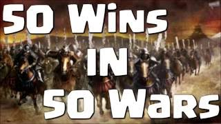 Clash of Clans | 50 Wins in 50 Wars! Episode 11! GoVaHo, QuadLaLoon and MASS VALKERIE Raids!!!
