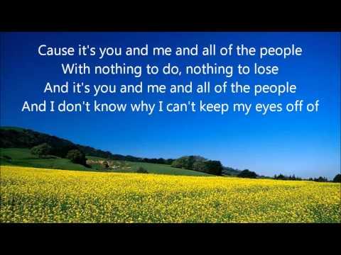 Lifehouse you and me lyrics