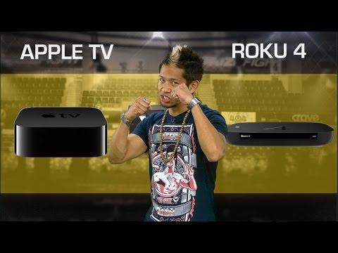 New Apple TV vs. Roku 4 (CNET Prizefight)