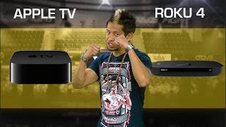 New Apple TV vs. Roku 4 (CNET Prizefight)