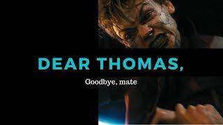 NEWT'S LETTER TO THOMAS (The Maze Runner Series)