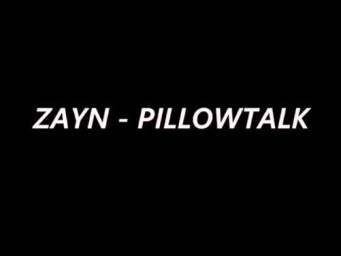 Pillow Talk- Zayn (1 HOUR LOOP W/ LYRICS!!!)