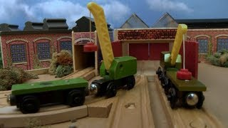 Wooden Railway Reviews - 1996 Breakdown Train