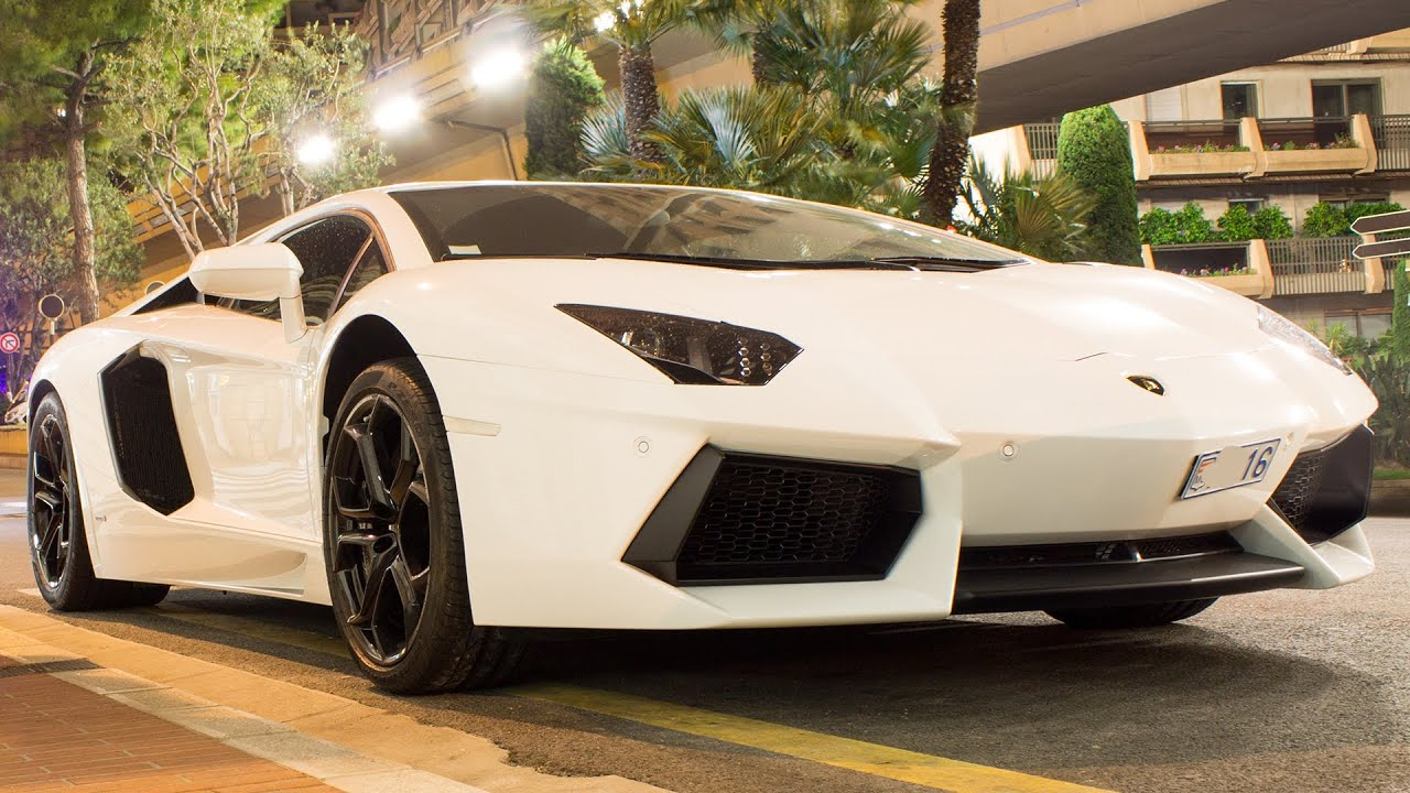 matte white lamborghini aventador lp700 4 review driving and sound 2016 hq youtube - Lamborghini Aventador White