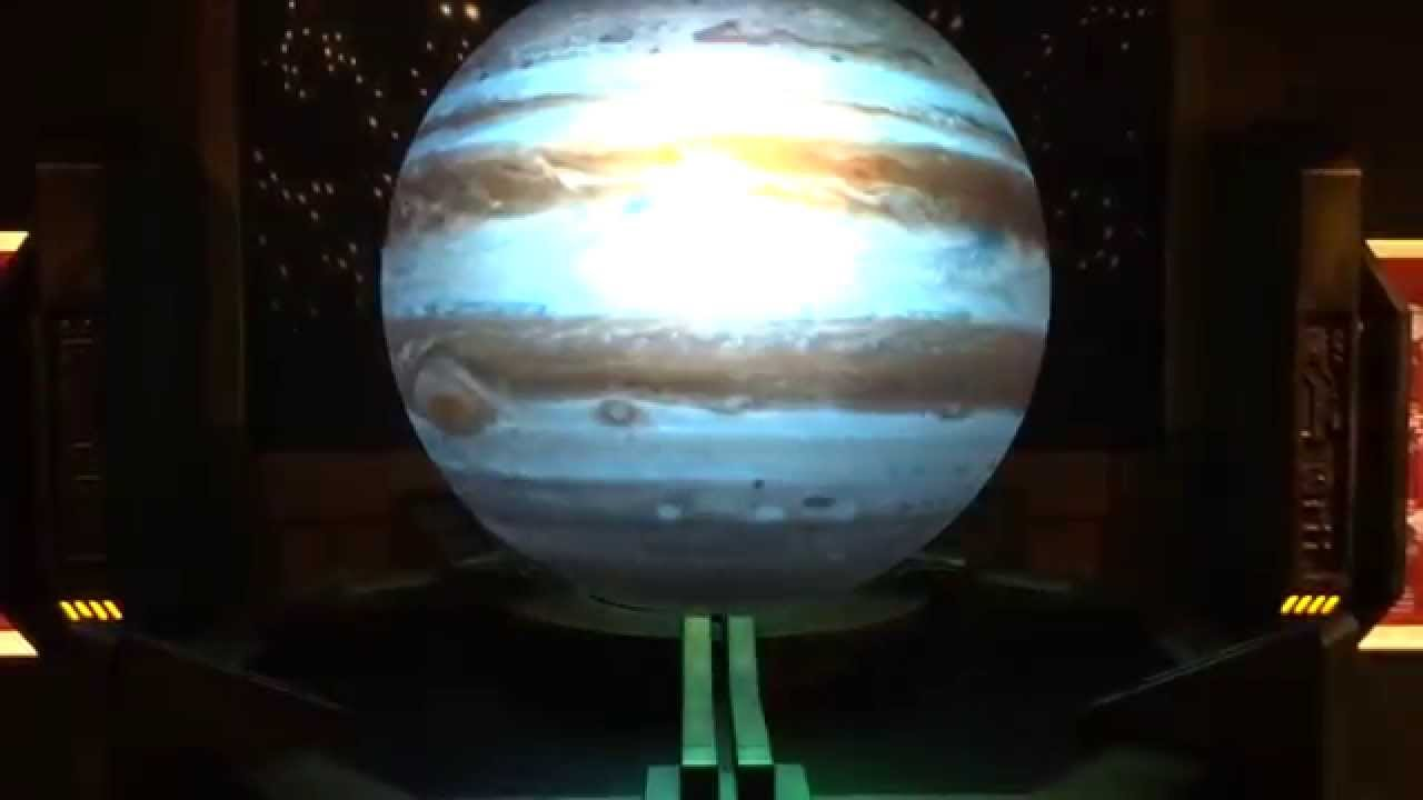 3d Projection Of Solar System Planets Youtube