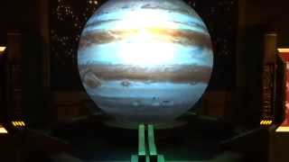 3D Projection of Solar System Planets