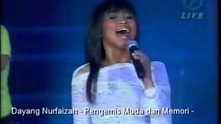 Dayang Nurfaizah - Pengemis Muda dan Memori - Dayang dan Sheila Majid - Ratu 2003 - LIVE