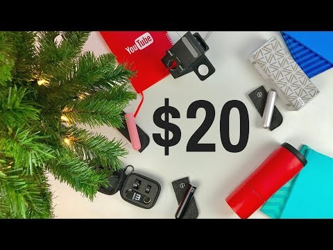 BEST TECH UNDER $20 - December 2017 Holiday Gift Guide + GIVEAWAY