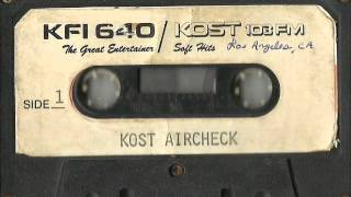 KOST 103.5 Los Angeles - Mike Sakellarides (1988)
