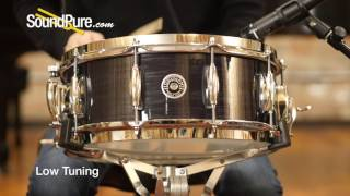 Gretsch 5.5x14 USA Brooklyn Snare Drum - Black Oyster, Quick n' Dirty