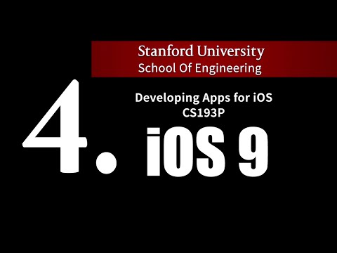 Stanford - Developing iOS 9 Apps with Swift - 4.  Views