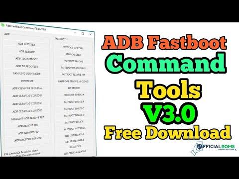 ADB Fastboot Command Tools V3.0 Latest Version 2020