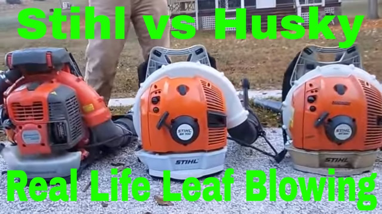 stihl br 600 vs stihl br 700 vs husky 580 bts - pros and cons - youtube