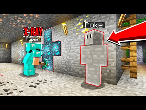 I Used An UNDERCOVER MOD And Caught My Friend XRAYING.. (Minecraft)