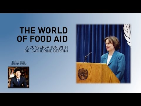 S&S Podcast: The World of Food Aid with Dr. Catherine Bertin