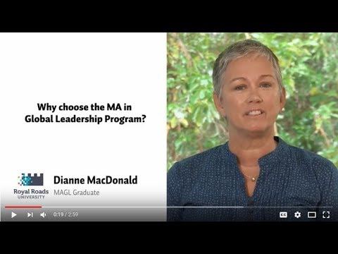 Why choose the Master of Arts in Global Leadership Program?