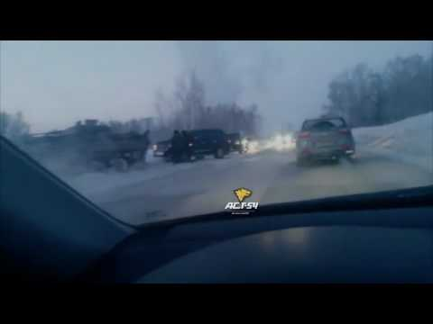 Accident Rusia tanc vs Land Cruiser