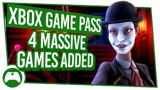 Xbox Game Pass Update: 4 Massive Games Added