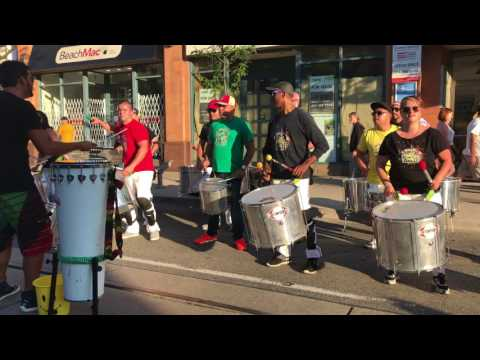 Afro Brazilian Drumming - Beaches Jazz 2017