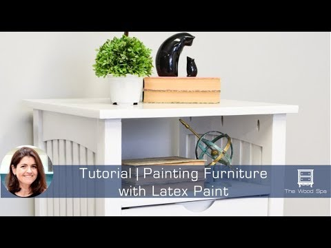 Painting Furniture With Latex Paint Speedy Tutorial 13