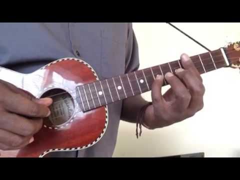 Uke Tutorial Yellow Ledbetter By Pearl Jam Youtube