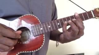uke tutorial yellow ledbetter by pearl jam