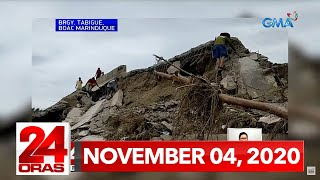 24 Oras Express: November 4, 2020 [HD]