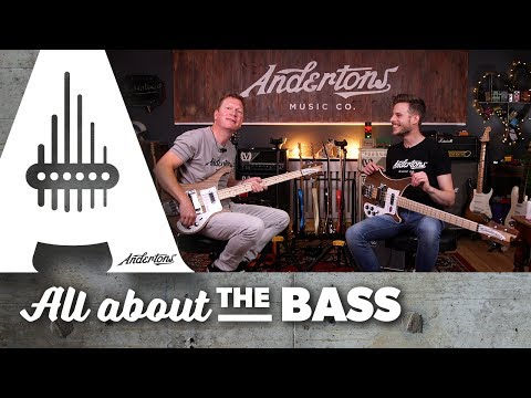 The Coolest Basses in The World? Rickenbacker 4003s Walnut Basses