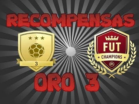 FIFA 17 / RECOMPENSA FUT CHAMPIONS / ORO 3 / ME SALE IF MEDIA 84 ..