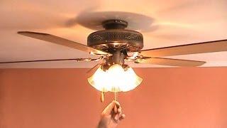 Как установить люстру вертушку. Люстра вентилятор, установка в Киеве(, 2014-02-06T08:43:03.000Z)