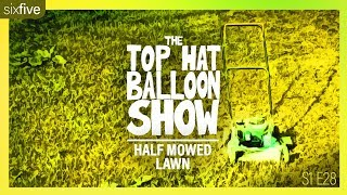 """Half Mowed Lawn"" 