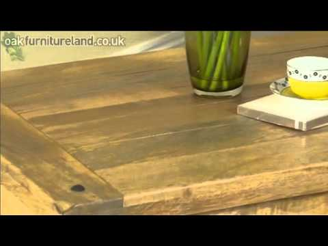 Baku Light Mango Coffee Table From Oak Furniture Land