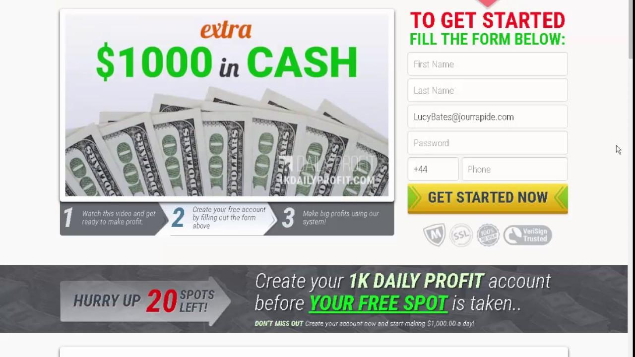 Daily profit trading binary options