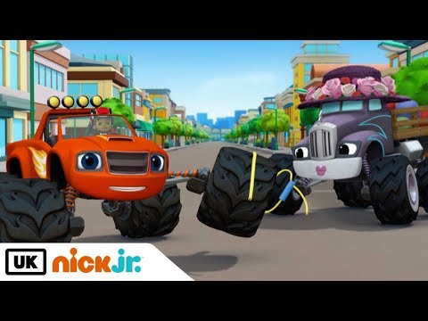 Blaze and the Monster Machines | Rocket Ski Rescue | Nick Jr. UK